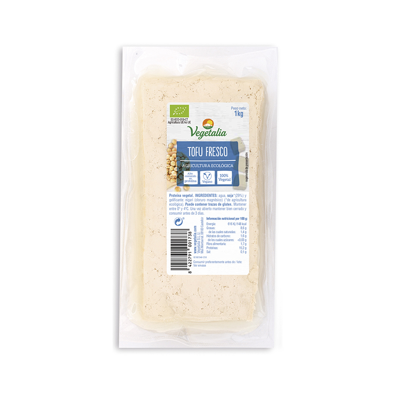 Tofu Vegetalia fresco 1kg ECO
