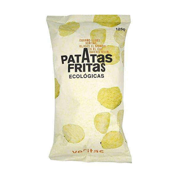 Patatas fritas con sal 125g ECO