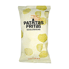 Patatas fritas con sal 125g