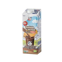 Beguda d'arròs i xocolata amb calci 1l ECO