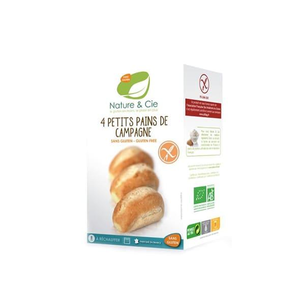 Pan rústico sin gluten 4x60g