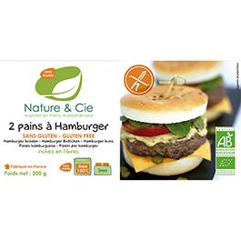 Pan de hamburguesa sin gluten 2x100g