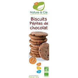 Galleta de chocolate sin gluten 130g