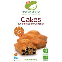 Cakes de chocolate sin gluten 6x30g