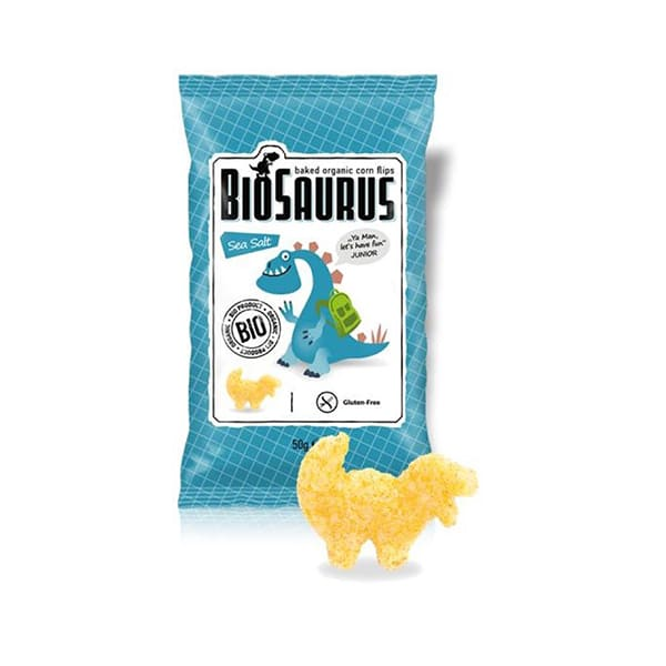 Snack maiz Biosaurius 50g ECO