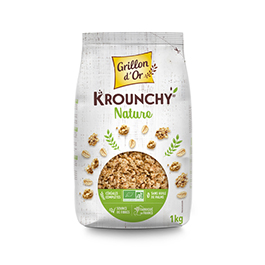 Crunchy natural 1kg ECO