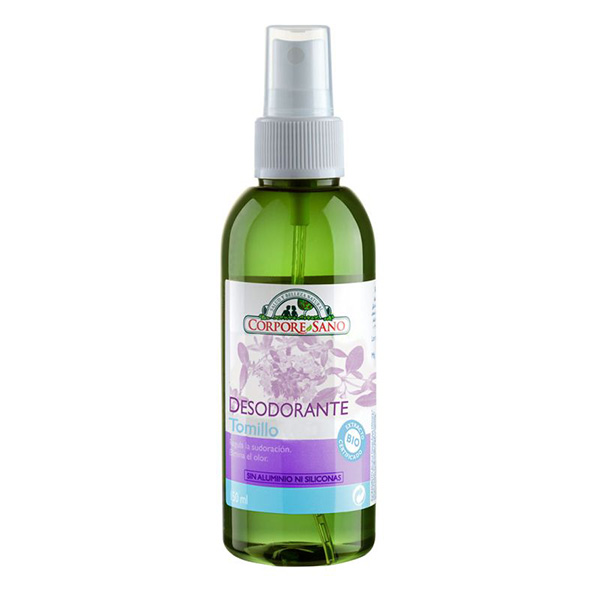 Desodorante tomillo y salvia 150ml