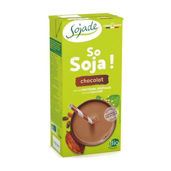 Bebida de soja con chocolate 1l