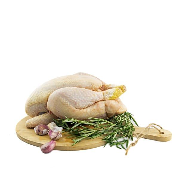 Pollo entero eviscerado, kg ECO