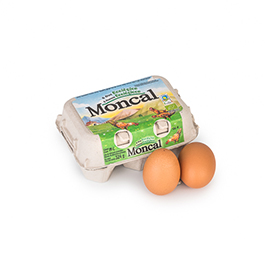 Huevos Moncal 1/2 docena