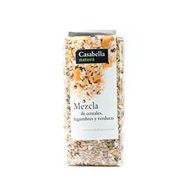 Mezcla cereales legumbres, verduras 350g