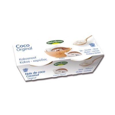 Postre coco natural 2x125g