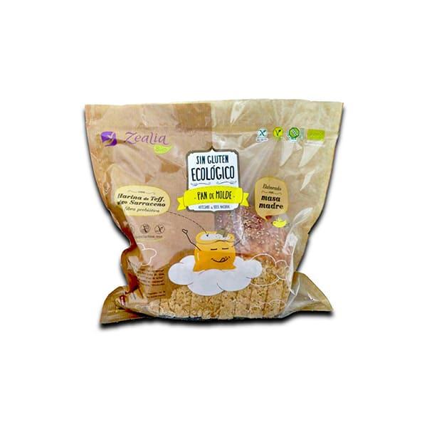 Pan de molde sin gluten 360g ECO
