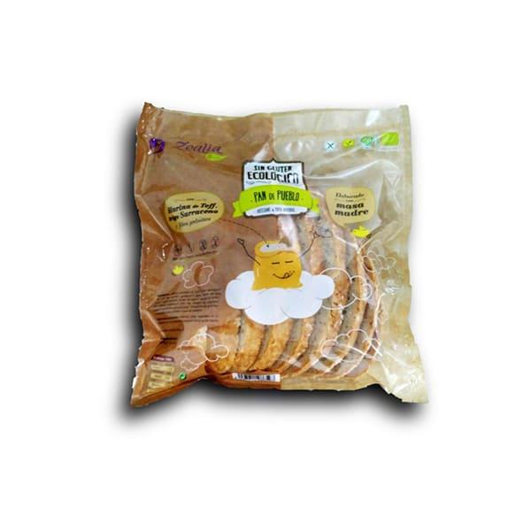 Pan de pueblo sin gluten 400g ECO