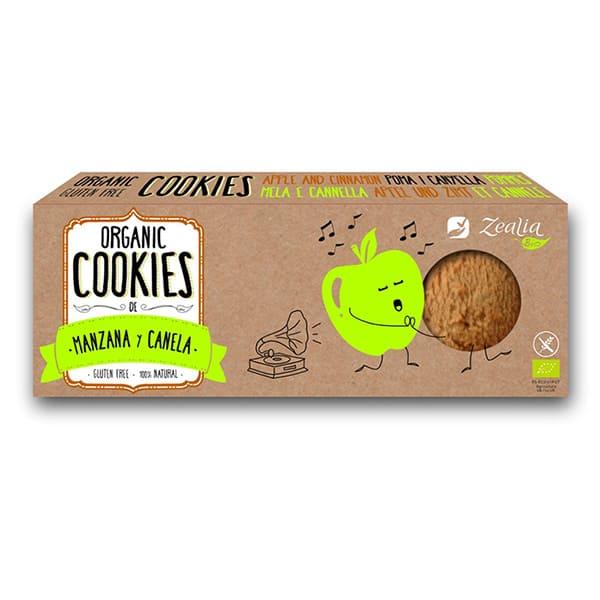 Cookies manzana-canela sin gluten 135g ECO