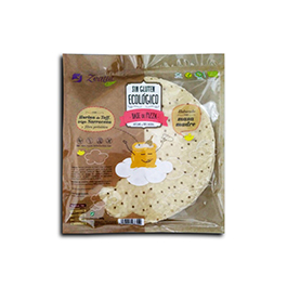 Base de pizza sin gluten 370g
