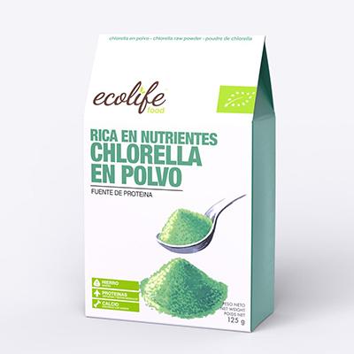 Chlorella en polvo 125g ECO