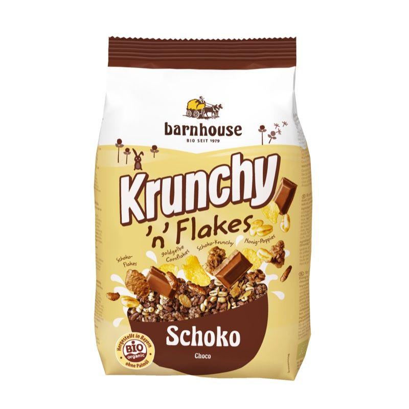 Crunchy y copos de chocolate ECO