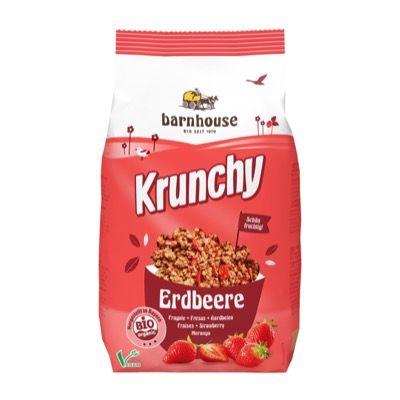 Crunchy y copos de fruta 375g