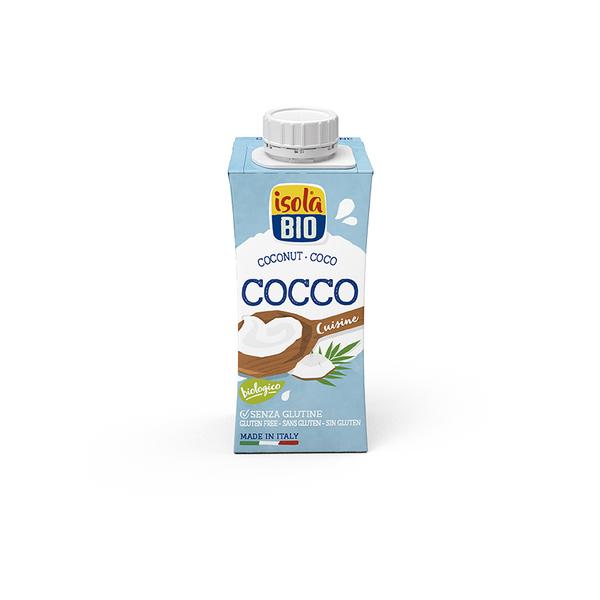 Crema de coco para cocinar 20cl ECO