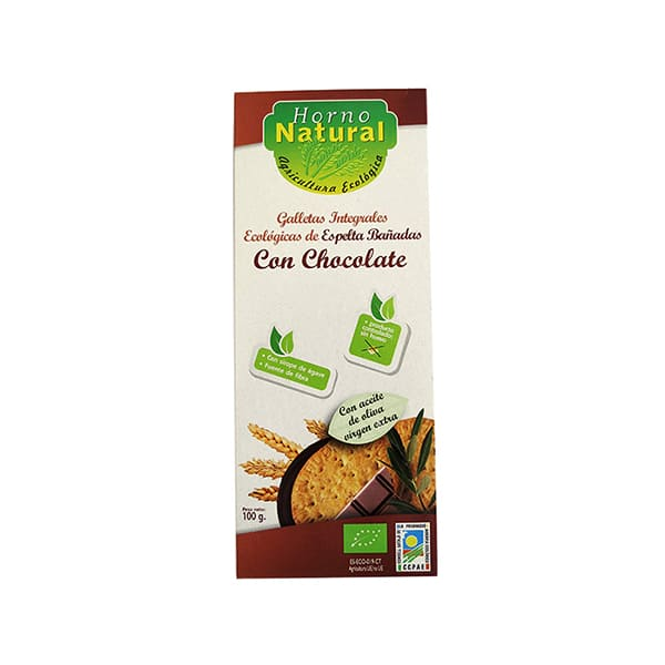 Galleta espelta chocolate ECO