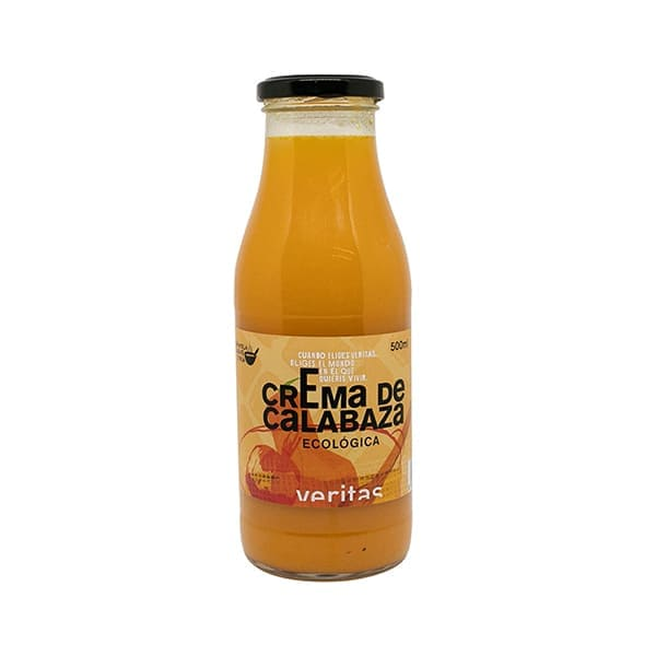 Crema de calabaza 500ml ECO