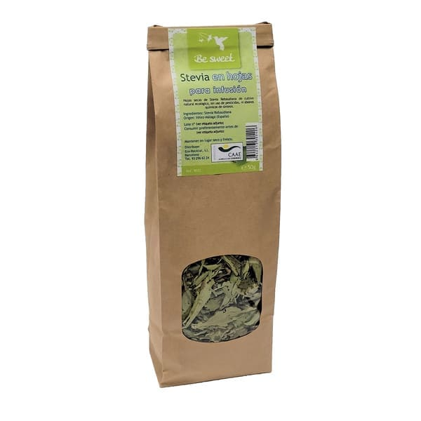 Stevia hoja seca 50g ECO