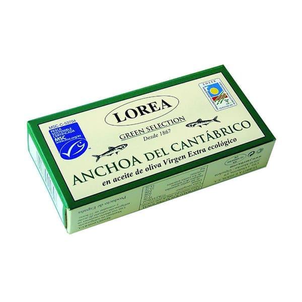 Anchoa del Cantábrico aceite oliva 26g ECO