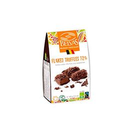 Trufas c/chips chocolate negro 100g
