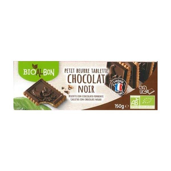 Galletas tableta chocolate negro 150g ECO