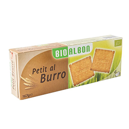 Galleta de mantequilla 167g ECO