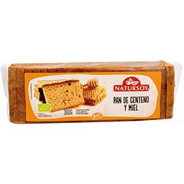 Pan miel y centeno 300g ECO