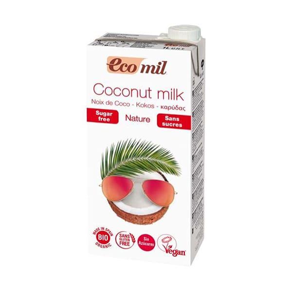 Bebida coco s/azúcar 1l ECO