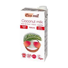 Leche coco s/azúcar 1l