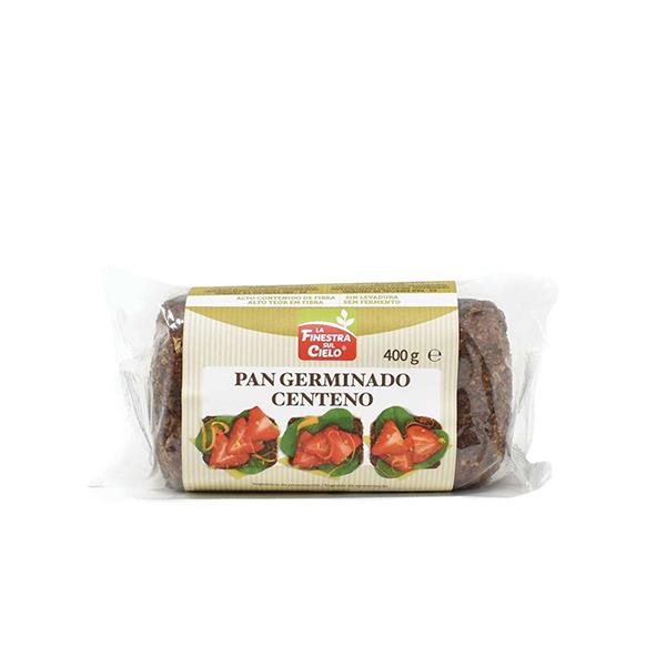Pan germinado de centeno 400g ECO