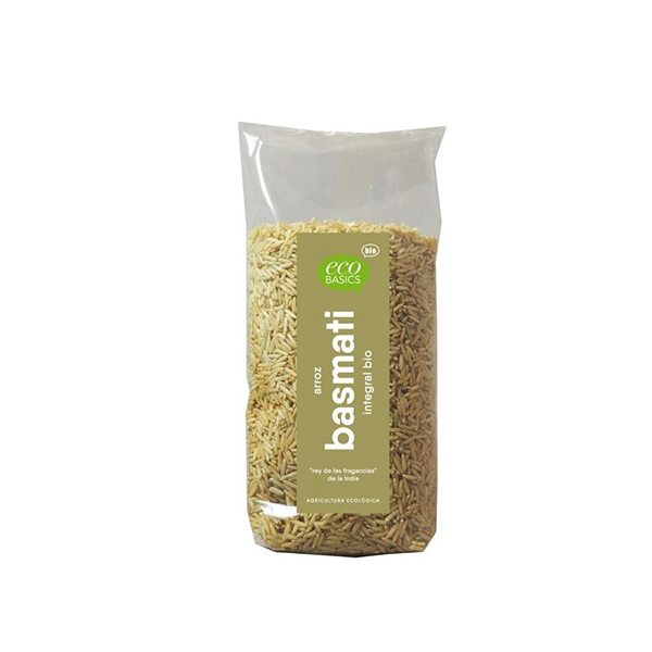 Arroz Basmati integral 500g ECO