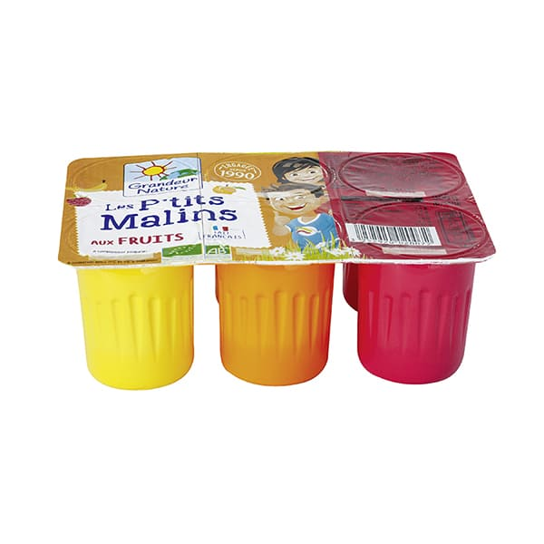 Peques sabores natural 6x60g ECO