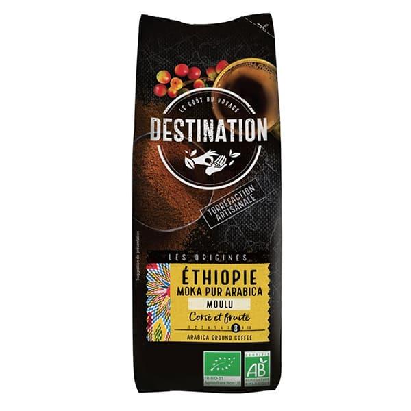 Cafè Moka Etiopia mòlt 250g ECO