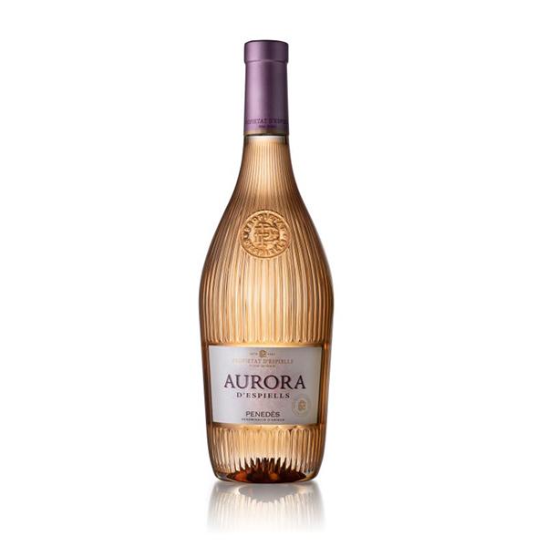 Vino rosado Aurora Espiells J75cl