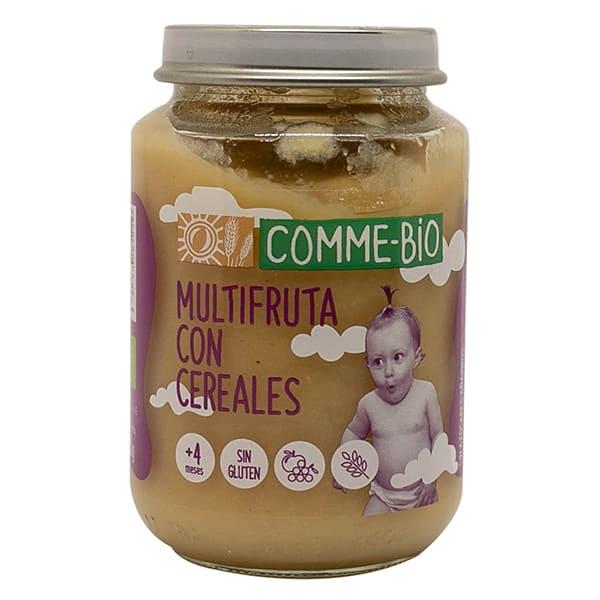 Puré de frutas y cereales 200g ECO