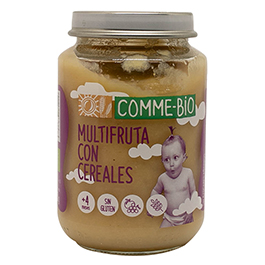 Puré f/cereals CommeBio 200gr ECO
