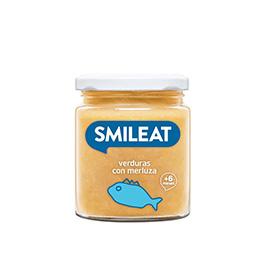 Pure verduras con merluza SMILEAT 230g