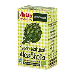 Caldo natural de alcachofa 1l
