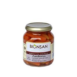 Zanahorias enteras cocidas 220g ECO
