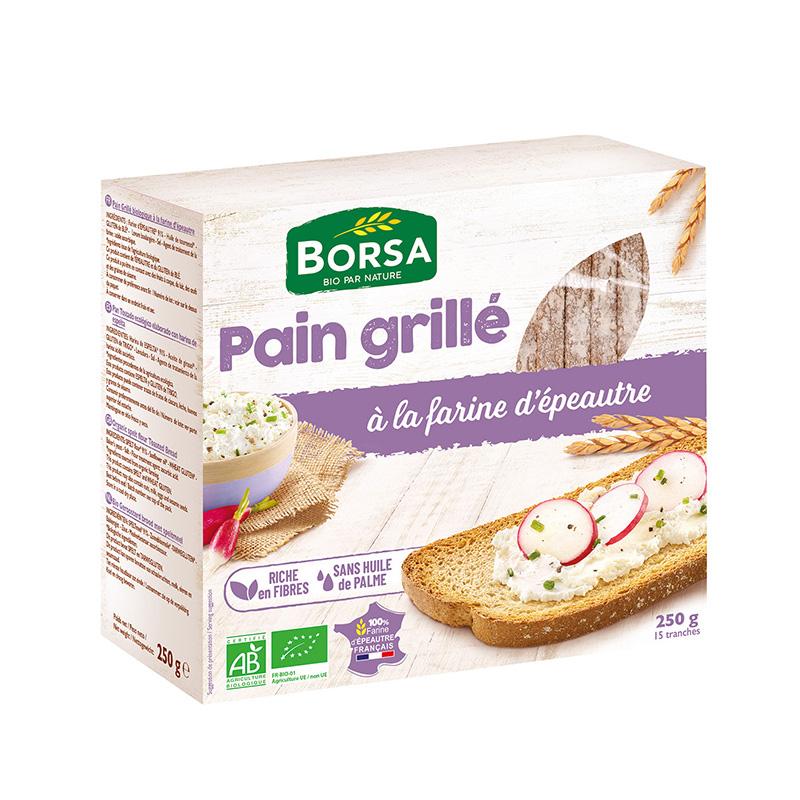 Pan tostado de espelta 250g ECO