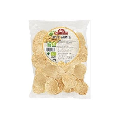 Chips de Garbanzo Natursoy 70g