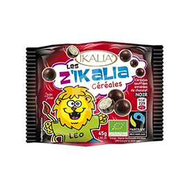 Cereales con chocolate negro 45g