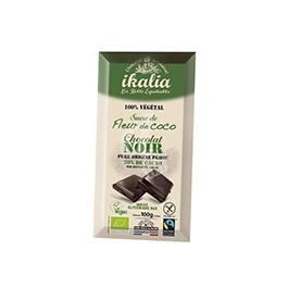 Chocolate negro con azúcar de coco 100g