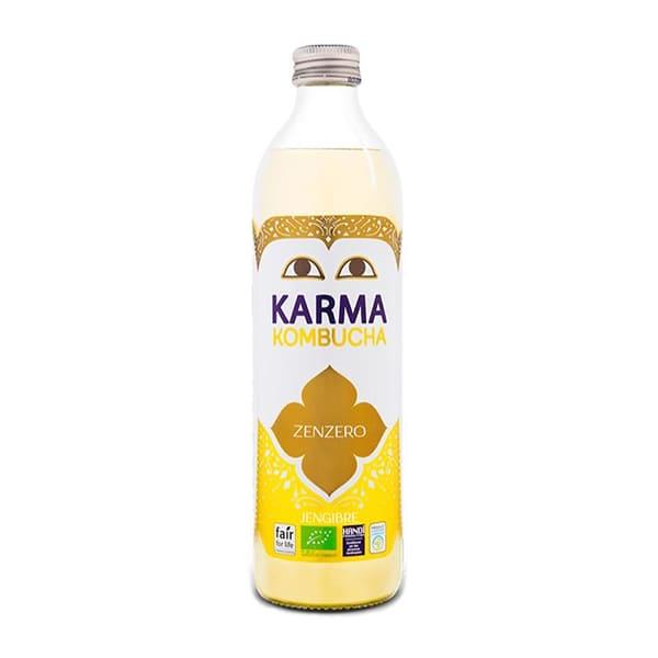 Té Kombucha con jengibre 500ml ECO