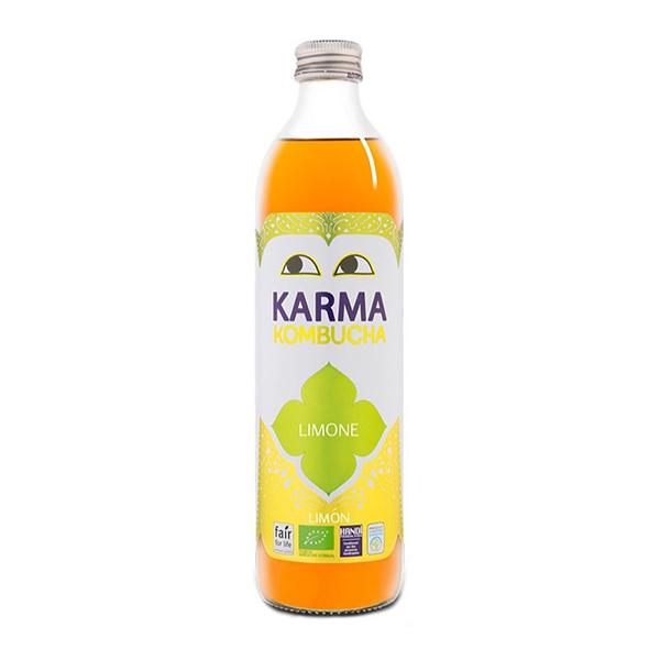 Té Kombucha con limón 500ml ECO